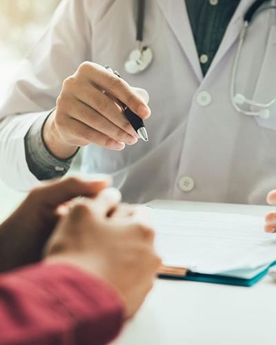 Doctor, Pen & Patient